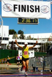 Photo courtoisie : ASI Événement : 2009 Lake Placid Marathon